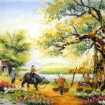 Thơ họa Nguyễn Thành Sáng & Tam Muội (196) Tranh-Da-Quy-Quan-Nuoc-Dau-Lang-150x150